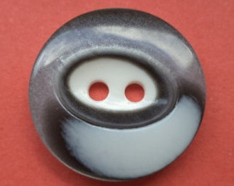 10 buttons grey 15mm 18mm (2598 2492) button