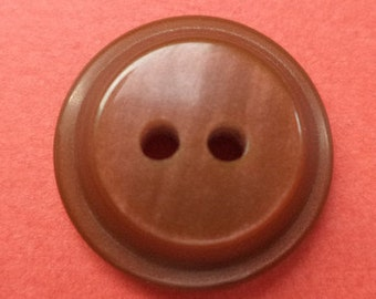 10 Brown buttons 15mm (2110) button