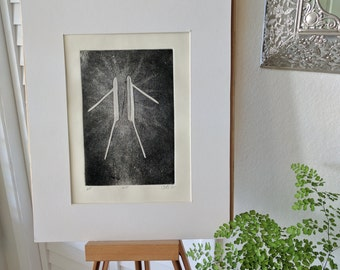 Needle: Original, Hand-Pulled, 1st Edition Print