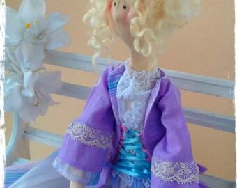 Textile Interior doll Tilda