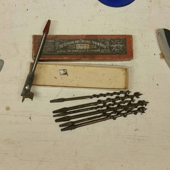vintage irwin drill bits approve