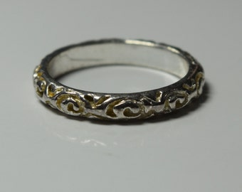 Vintage Silver Band, size 5.5