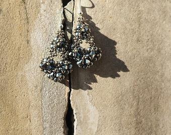LISA Grey Earrings