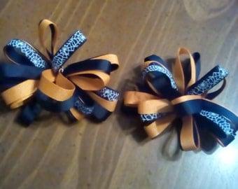 Halloween bow set