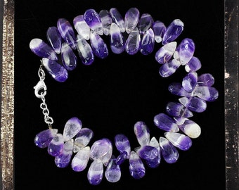 20% OFF COUPON!!!---Amethyst Bead Bracelet, 196.05ctw