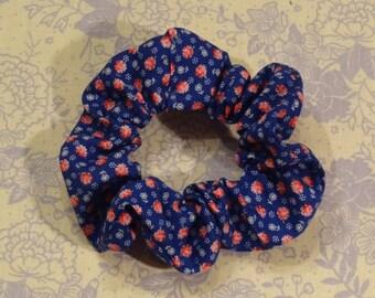 Cute Floral Scrunchie