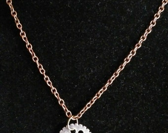 "20"" Steam Punk Necklace  #38"
