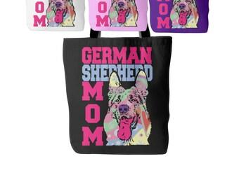 German Shepherd Mom Tote Bag - Tote For German Shepherd Lovers - Perfect Gift for a German Shepherd Lover