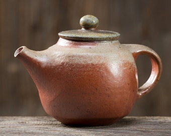 Little Teapot - Anagama Kiln Fired - tk-sl-81