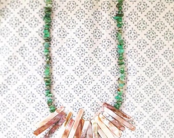 Gemme Carapace Necklace