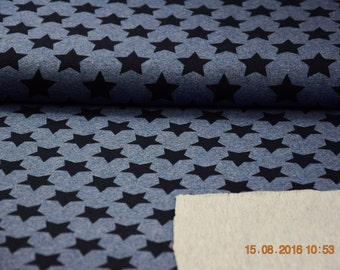 Summer sweat Heather black and Blue Star