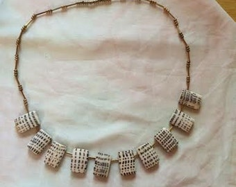 Stepping Shells Necklace