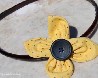 Polkadot Sunny Flower