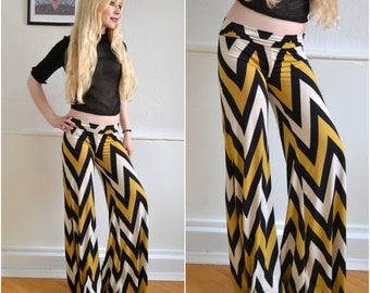 Vintage blow pants - boho 70s hippie 25 26