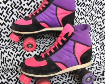 Vintage 1980's Roller Skates