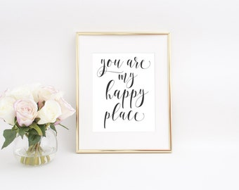 Couple Wall Art, Couple Print, Love Printable, Love Quote Print, Printable Quotes, Love Quote signs, Bedroom Wall Art, Bedroom Wall Decor