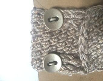 Tunisian Crochet Mug Cozy