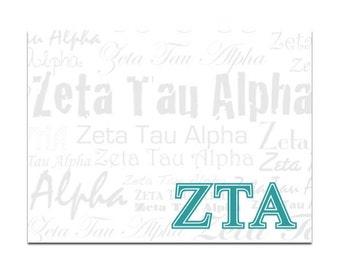Zeta Tau Alpha Sticky Notes