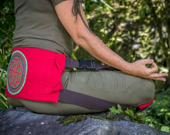 Meditation Seat, Meditation Belt, Improve Posture, Back Belt, Sit Straight Feel Great!