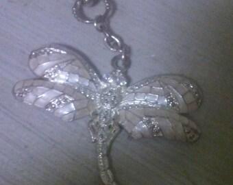 Vintage Shalimar dragonfly charm