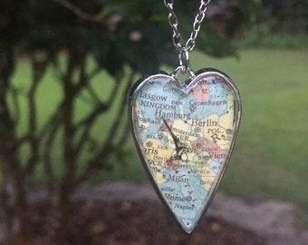 "The ""My Heart Belongs In Europe"" Necklace"