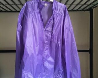 Purple Nylon Jacket Size L