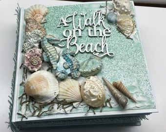 Beach theme mini album