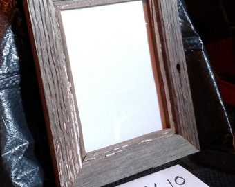 Real Barnsiding Wood, Hand Made, 8 x 10 Picture Frame