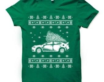 Funny Ugly Xmas Tee. Funny Xmas T Shirts. Christmas vacation shirt. Ugly Christmas T-Shirt