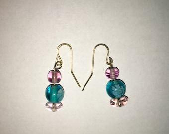 Gumdrop Bead Earrings