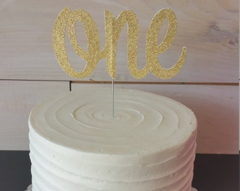 One Birthday Topper - FREE SHIPPING