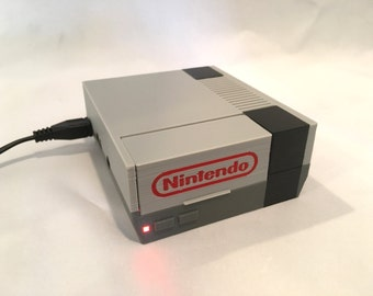 Raspberry Pi Case Nintendo NES Case with LED - 2B or Pi 3