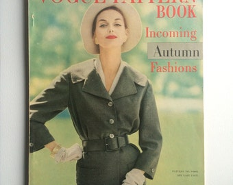 Vogue Pattern Book August - September 1957