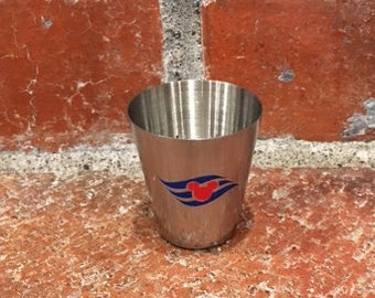Disney Cruise Inspired Stainless Steel Shot Glass - Great for Fish Extender Gifts!