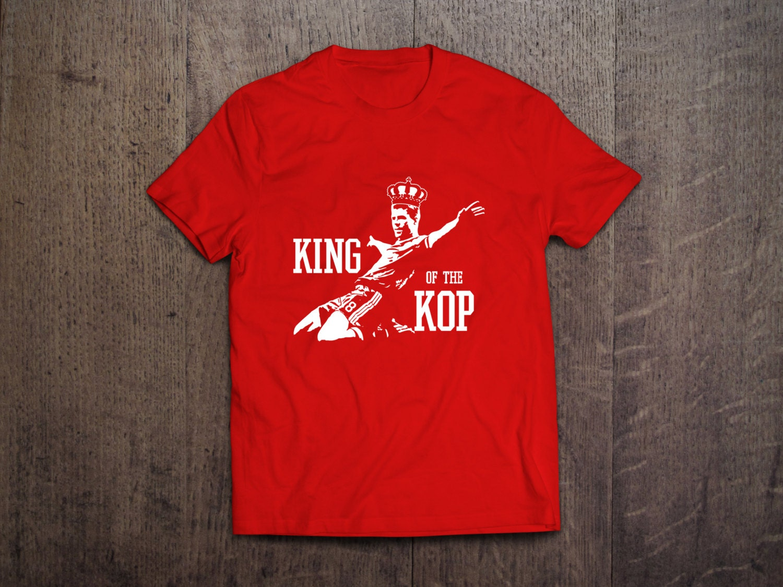 Design your own t shirt liverpool - Tribute Stevie G T Shirt Liverpool Fc King Of The Kop Steven Gerrard