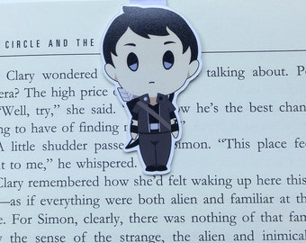 Alec - Magnetic bookmark - Shadowhunters || malec | book lover gifts | bookmark | bookish | bookmarks | magnus | magnetic bookmarks