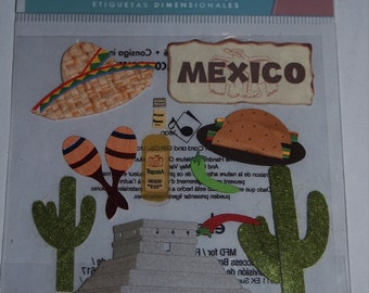Jolee's Boutique -Dimensional Stickers - Mexico