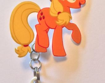 Applejack pin with cutie marke