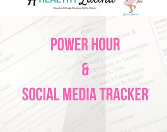 Power Hour & Social Media Tracker for Beachbody Coaches