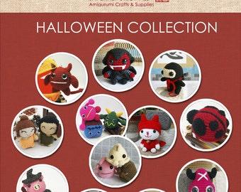 Halloween Collection Amigurumi Patterns - 8 Patterns