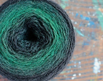 Pure wool knitting yarn - 97 g