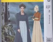 McCalls 7493 Misses Women's Regency Jane Austen Dress Spencer Jacket UNCUT Sewing Pattern