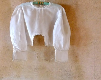 Antique Children's Clothing Civil War Era Child's Blouse