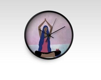 I am Yoga - Wall clock