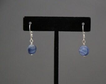 Kyanite & Sterling Silver Earrings