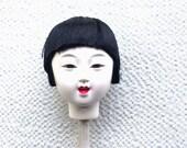 Japanese Doll Head Hina Matsuri Japanese Doll Festival Girl's Head D11-45