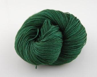 """MYS 622 """"Moss """" - 100 grams 400 yards - 60/20/20 Superwash Merino, Yak and silk"""