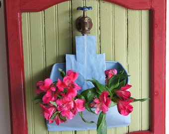 Water Feature Fountain made from Architectural Salvage #3