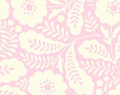 SALE fabric, Fabric for girl, Quilting fabric, Floral fabric, Heather Bailey Clementine fabric- Primrose in Pink- Fat Quarter to Yardage