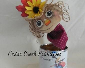 Primitive Scarecrow  bobbing head